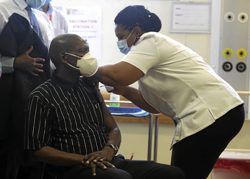 Health minister Zweli Mkhize said so far more than 32,000 health workers had been given the J&J shot.
