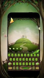 Grass keyboard. Plant, flower keyboard - náhled