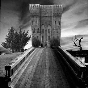 Persistence of Dreams  Series -  by Melinda Amaral-Pimentel - Digital Art Places ( dream, bridge, reality, surreal )