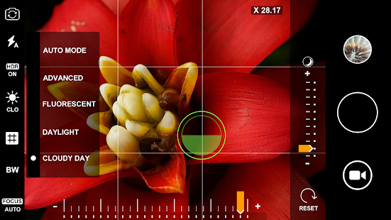 Macro  Photography  Camera.  Live  40x  Zoom Screenshot
