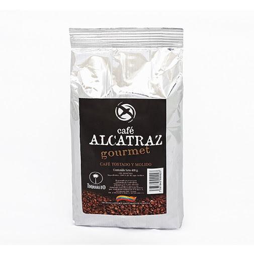 café gourmet alcatraz molido 400gr