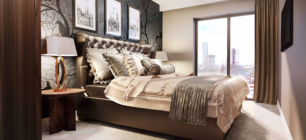 Tannery apartment bedroom