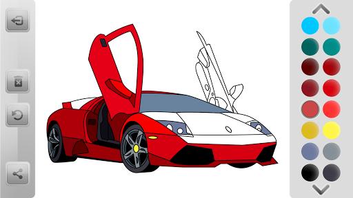World Cars Coloring Book android2mod screenshots 5