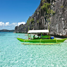 Crystal Clear Water by Mert Docdor - Landscapes Waterscapes ( water, nature, coron, sea, philippines, palawan, island )