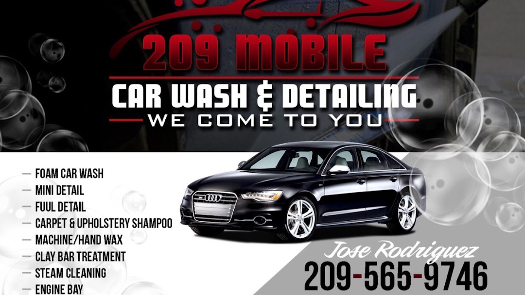 209 Mobile Car Wash Detailing Mobile Car Wash In Stockton Ca