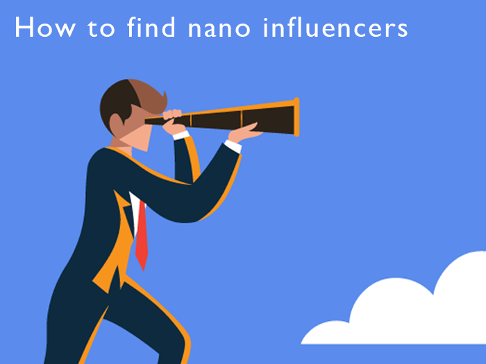 how to find nano influencers