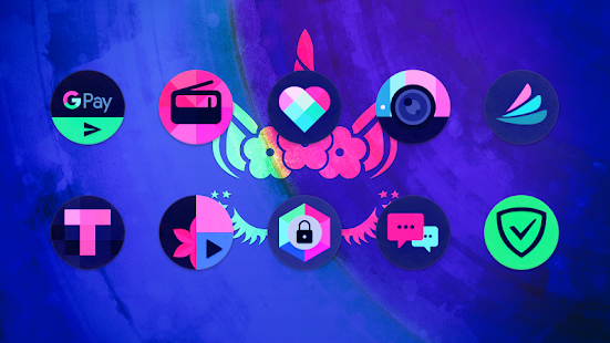Black Magic Icon Pack Screenshot
