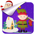 Cute Christmas Photo Stickers icon