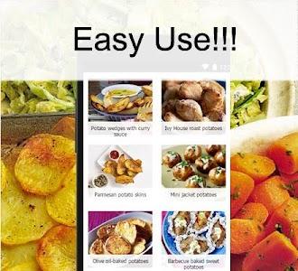 Potato recipes screenshot 1