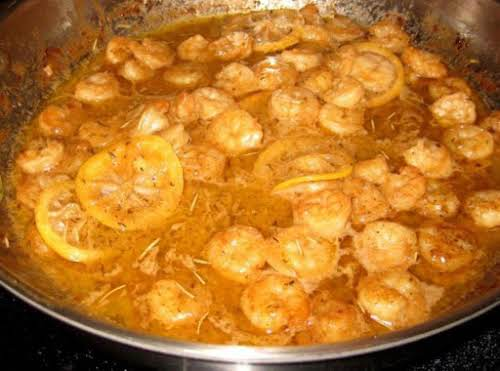 """New Orleans Style BBQ Shrimp """"Yum! This is a fond memory for me...eating..."""