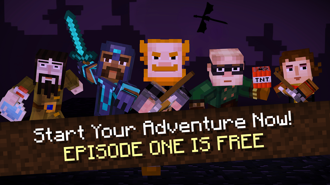 Minecraft: Story Mode Android App Screenshot