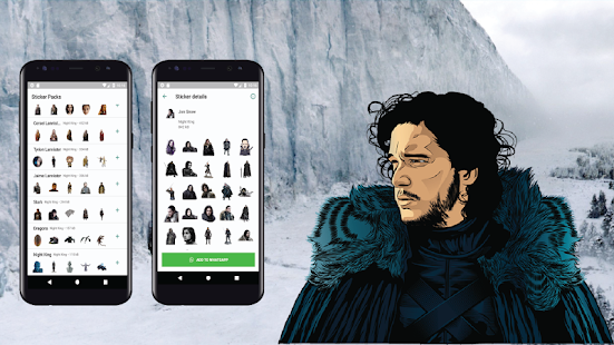 ✅ Stickers Game Of Thrones for WhatsApp  ✅ Screenshot