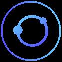 Dark Blue Line Icon Pack icon