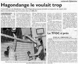 Photo: 13-03-11 N3F Yutz-Thionville s'incline 3-2 à Hagondange après un match longtemps indécis