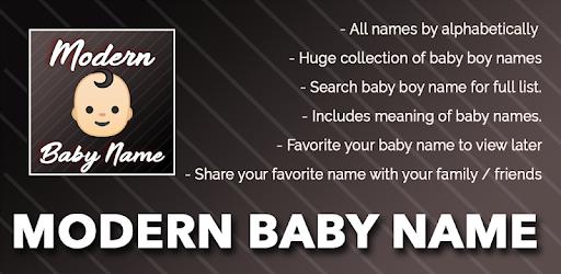 Modern Baby Name - Aplikacije na Google Playu