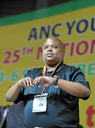 ANC Youth League president Collen Maine.