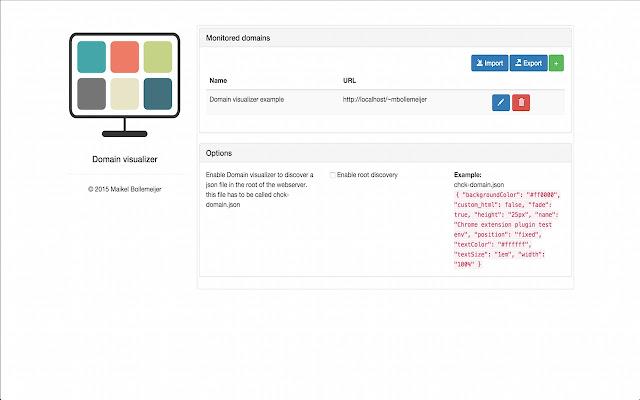 Domain visualizer