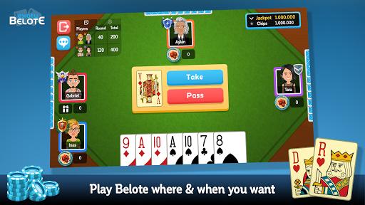 Multiplayer Belote & Coinche 6.5.0 screenshots 1