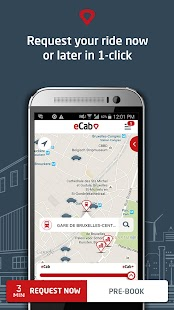 eCab, the new taxi experience- screenshot thumbnail