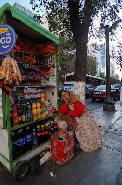 Photo: typicka stankarka v La Pazu :)