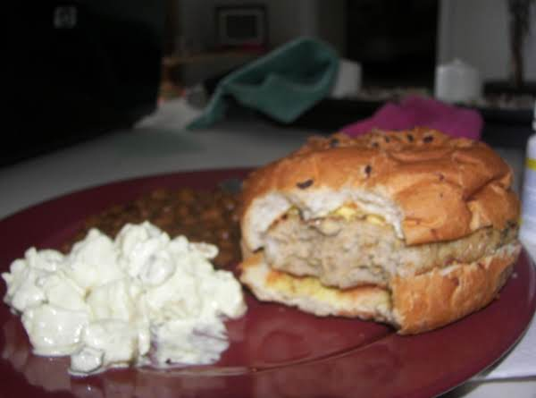 Kellie's Chicken Burgers Recipe
