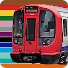 London Train Route Planner icon