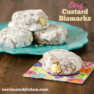 Easy Custard Bismarks
