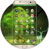 Forest theme for s7 edge