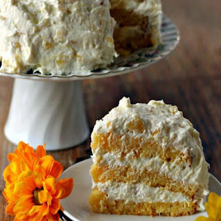 Pineapple-Orange Sunshine Cake.