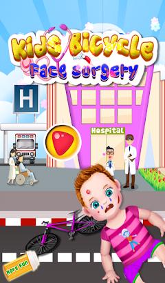 Kids Bicycle Face Surgery- screenshot thumbnail