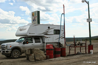 Photo: Dempster Highway. Eagle Plains