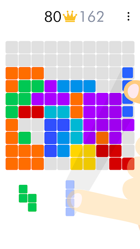 100 Blocks Puzzle screenshot 1