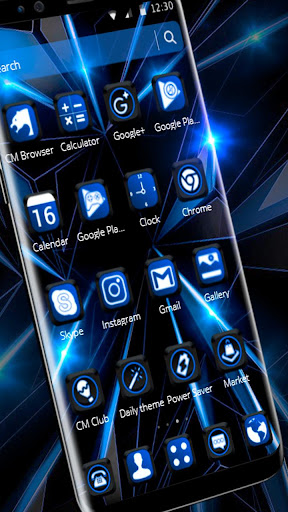 Black Blue Future Theme 1.1.6 screenshots 9