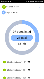 M-Goals Meditation Pro Timer- screenshot thumbnail