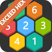 Exceed Hexagon Fun puzzle game