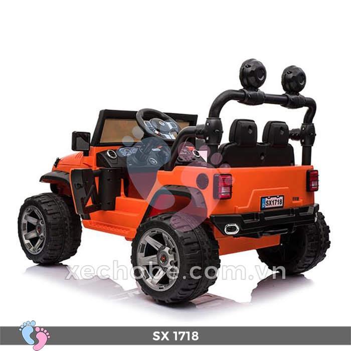 Xe ô tô điện trẻ em Jeep SX-1718 8