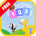 Counting for kids - Learn numbers 123 kids game icon