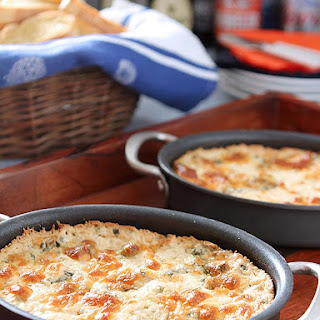Hot Spinach Dip With Cream Cheese Recipes