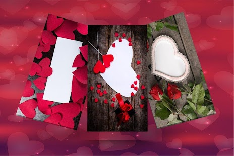Valentine Day Photo Frame 2018- Valentine frame - náhled