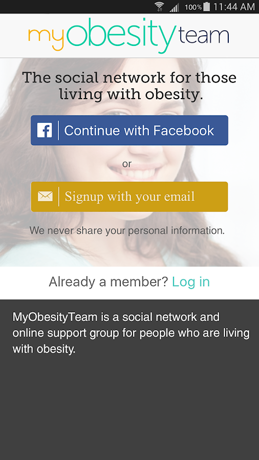 Obesity Support- screenshot