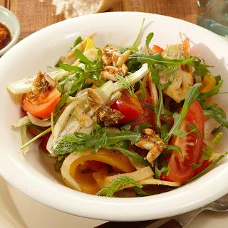 Paprika-Rucola-Salat