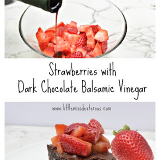 Dark Chocolate Balsamic Vinegar Recipes