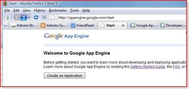 start_googleappengine