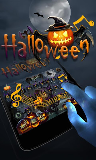 玩免費個人化APP|下載Halloween II GO Keyboard Theme app不用錢|硬是要APP