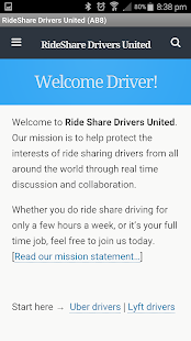 RideShare Drivers United RSDU- screenshot thumbnail