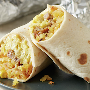 Avocado & Bacon Breakfast Burrito