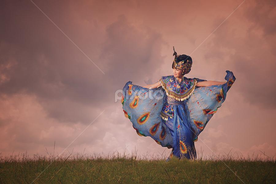 Beauty Peacock by Iwan  Kristiana - People Portraits of Women