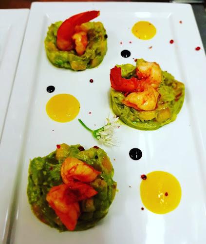 Plats aux crevettes du restaurant à Pontoise L'arbre Blanc