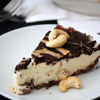 Cashew Turtle Ice Cream Pie