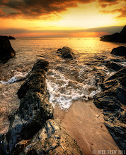 Photo: Gold Rush  Yet another image from Combsegate Beach in North Devon, I need to get out and do more coastal shots soon, with the winter sun the sky will be ablaze in the right conditions.  Sorry this is a bit of a jump on and off but I have been in work and will be for the rest of the weekend, I have no doubt I have missed a few posts but if you need to get in touch please hit the e mail button in my profile :)